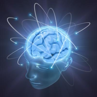 Brain with symbolic electrical signals-waves