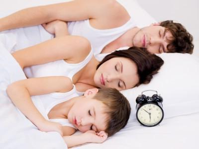 family sleep until morning CP test
