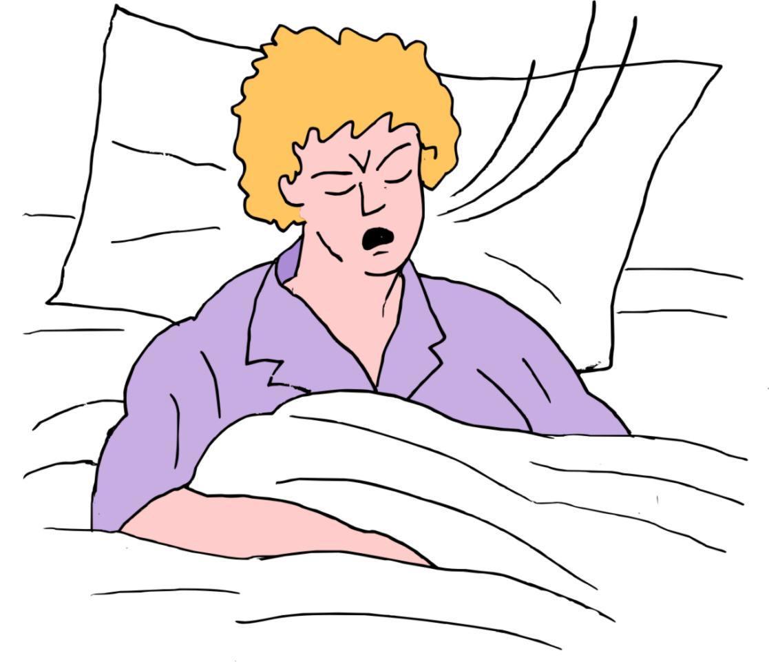 Fast Breathing During Sleep