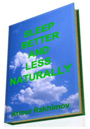 Sleep Better and Less - Naturally (cover)