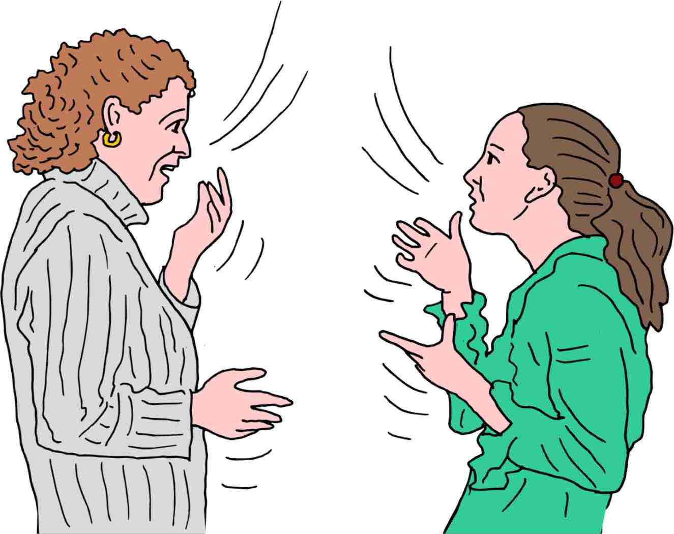 If You Talk Too Much: Health Effects of Excessive Talking
