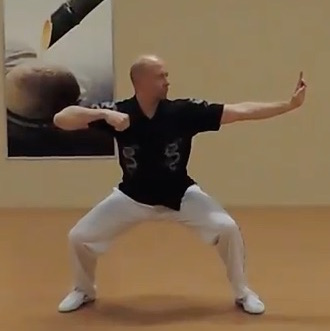 Volker demonstrates Qigong breathing pattern benefits with focused movements